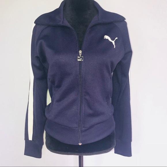 chico laberinto Hazlo pesado  Puma Jackets & Coats | Womens Track Jacket | Poshmark